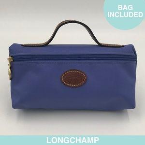 Longchamp Le Pliage nylon purple mini-bag + bag